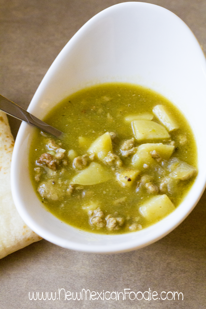 chile verde from scratch
