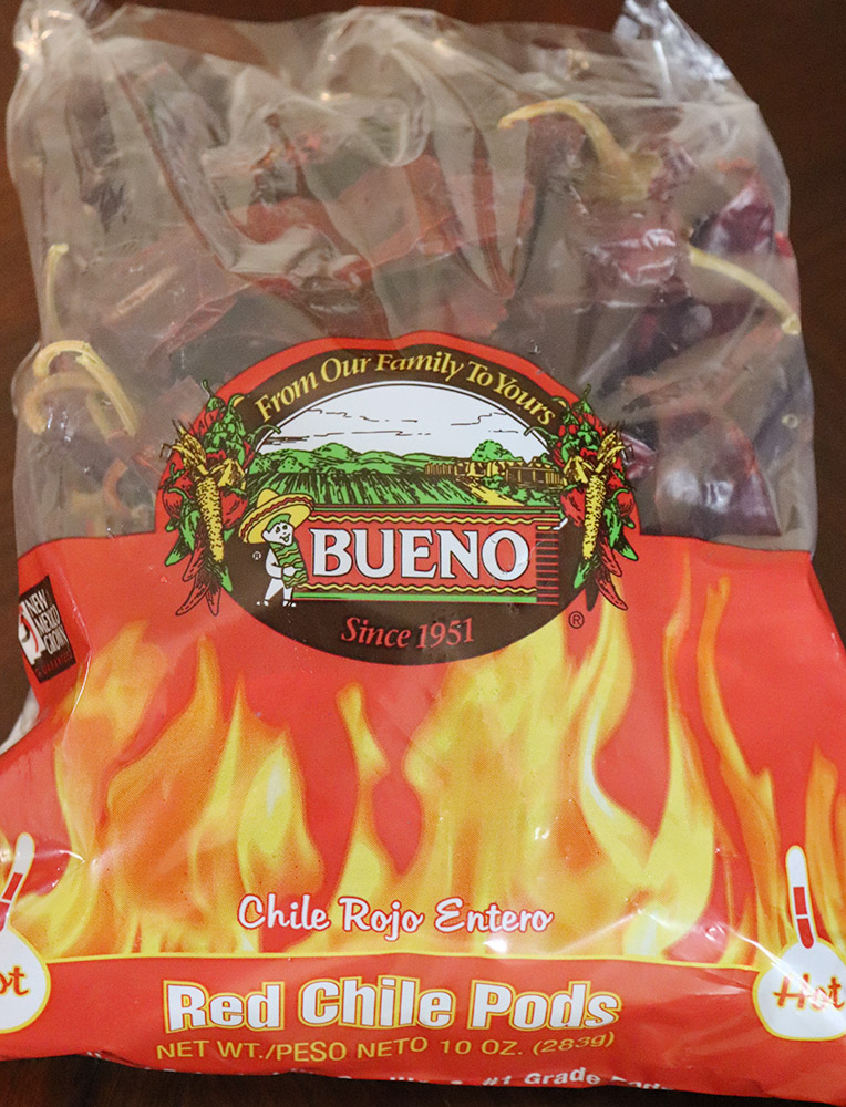New Mexico Dried Red Chile Pods