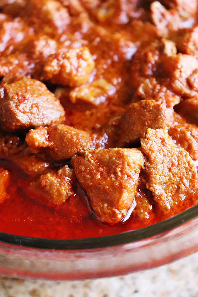 Slow Cooker Carne Adovada
