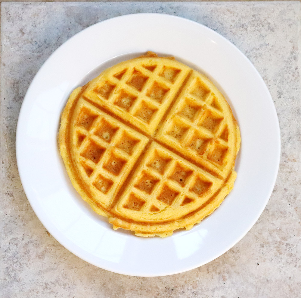 Green Chile Cheese Waffles | New Mexican Foodie