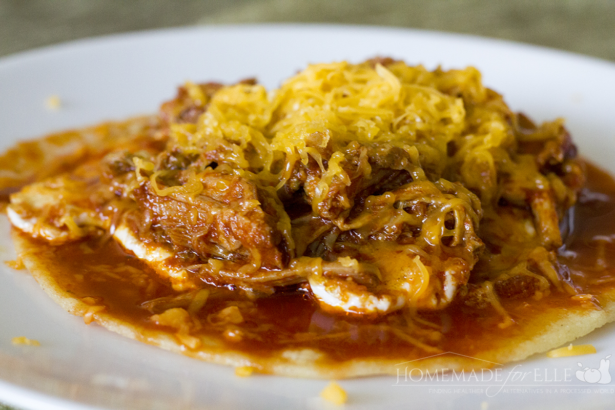 New Mexico Red Chile Pork with Huevos