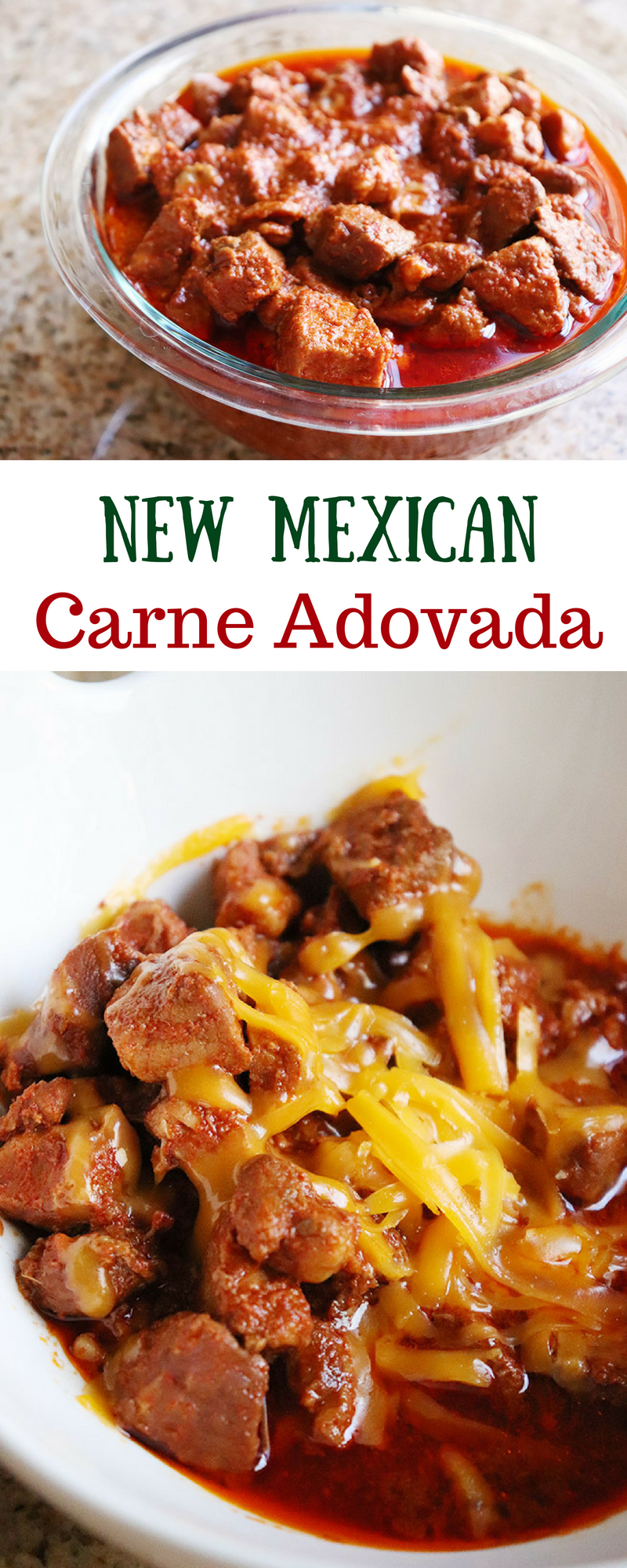 Homemade Slow Cooker Carne Adovada
