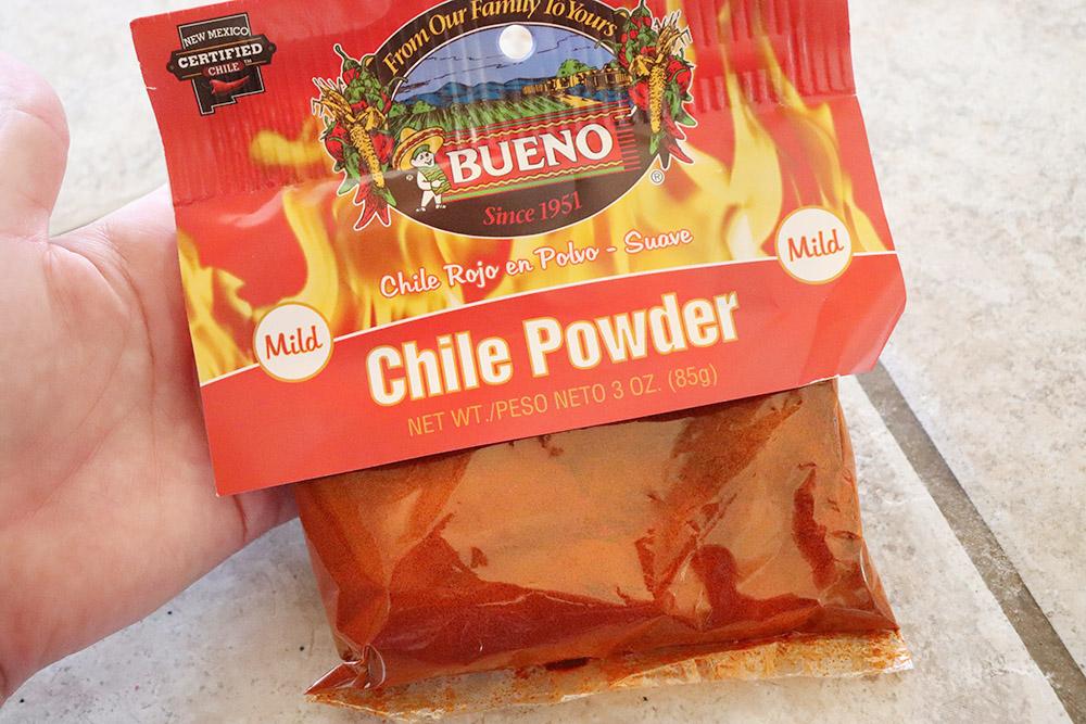 Bueno Red Chile Powder for Chocolate Milkshakes