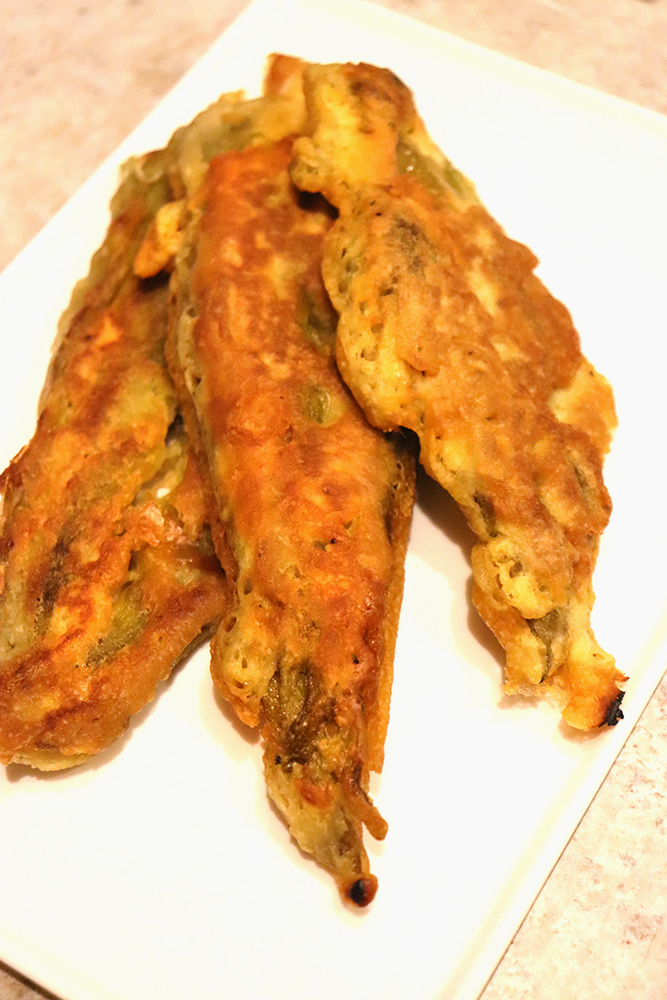 Fried Green Chile Strips | NewMexicanFoodie.com