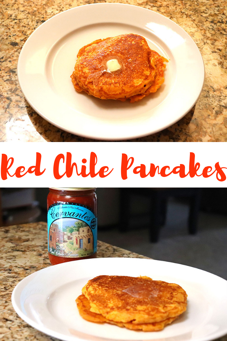 Red Chile Pancakes