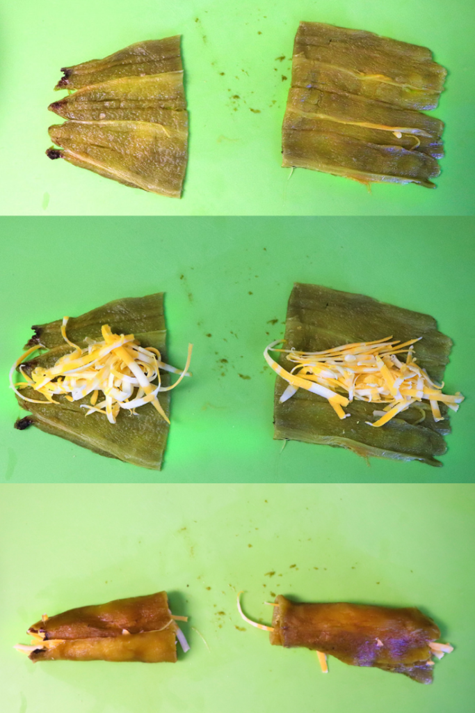 how to stuff a green chile with cheese