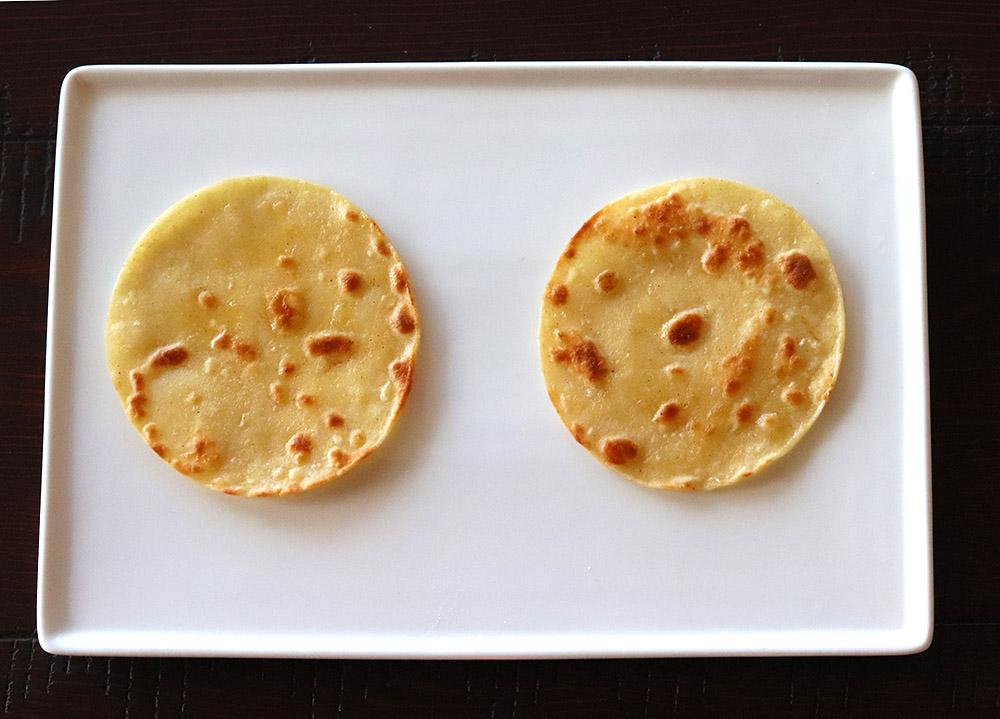 New Mexican Huevos Rancheros Corn Tortillas