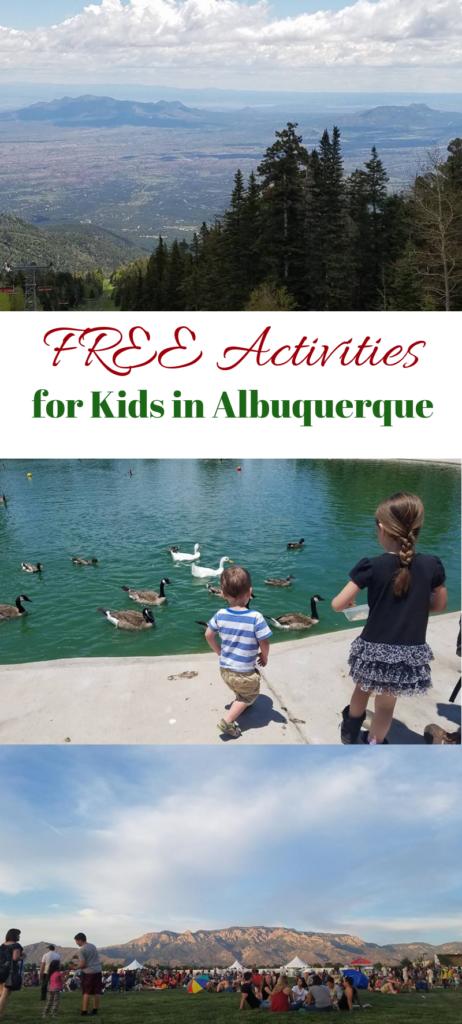20 Free Activities for Kids in Albuquerque.