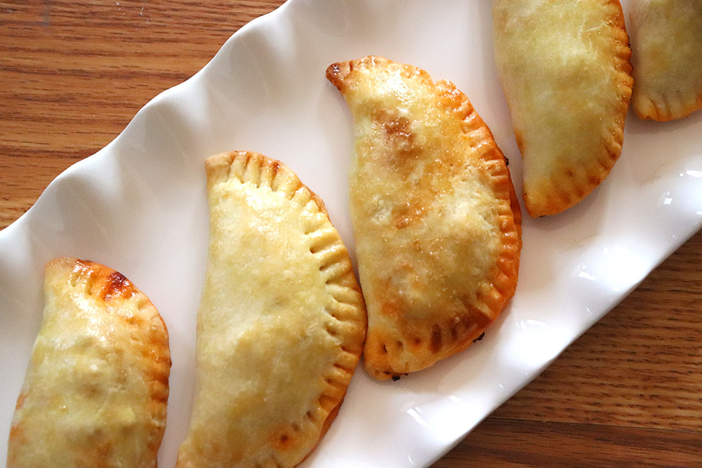 Red Chile Beef Empanadas
