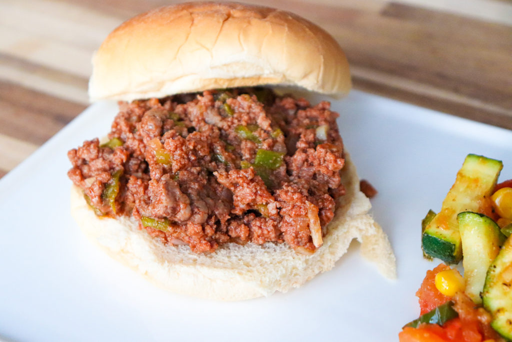 New Mexican sloppy joes made with green chile
