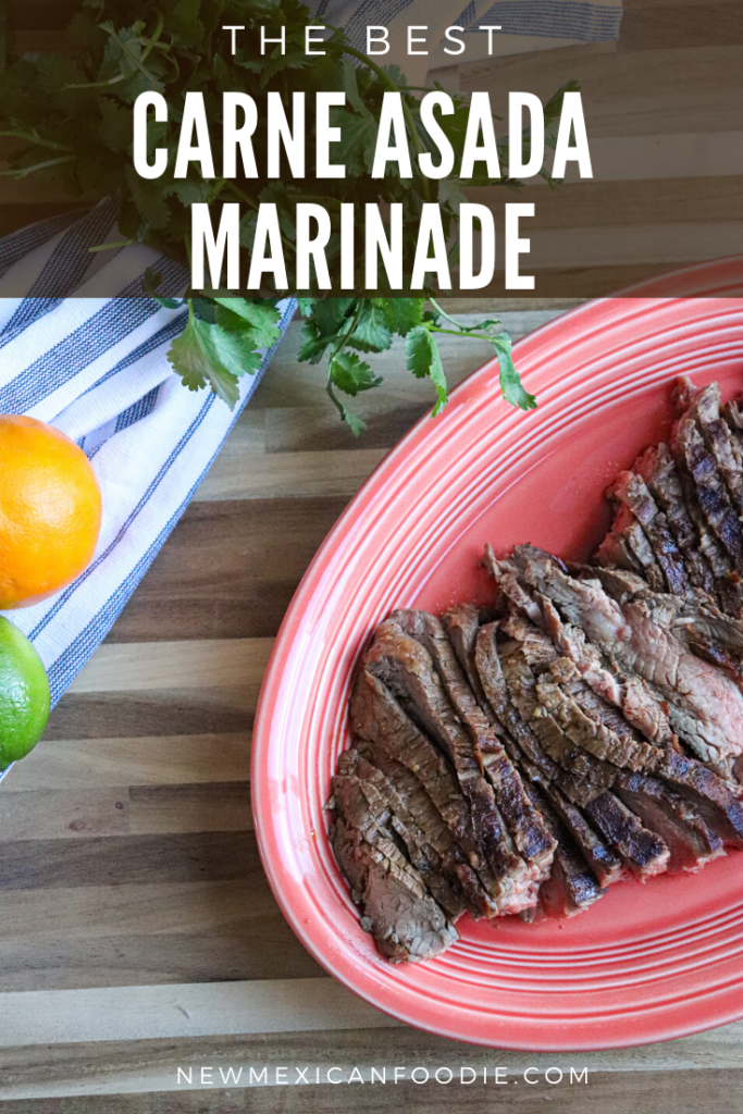 The best carne asada marinade for skirt or flank steak